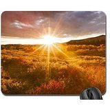 glorious sunset in alskan autumn Mouse Pad, Mousepad (Sunsets Mouse Pad)