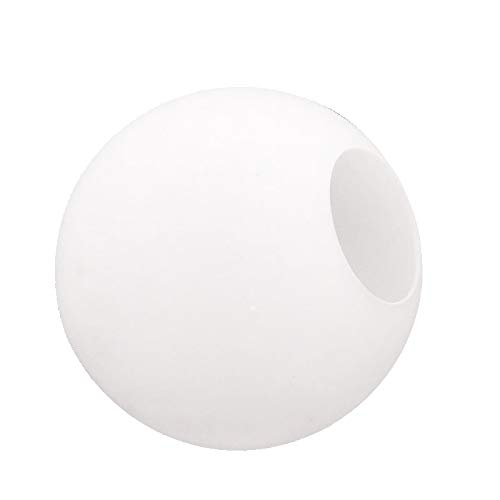 Lighting Fixture Replacement Globes Neckless Top Opening Frosted Glass Lamp Shades Diameter 10
