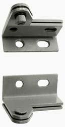 (1-1/2 Inch Long x 1.06 Inch Wide x 11/84 Inch Thick, Satin Chrome Finish Steel, Left Hand Wardrobe Pivot Hinge)