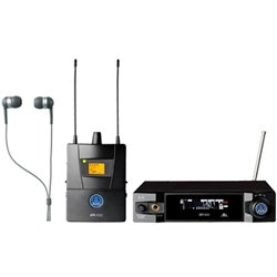 AKG IVM4500 IEM Band7 50mW Reference Wireless In-Ear-Monitoring System