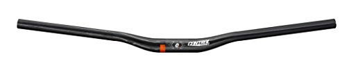 Control Tech Tux Carbon Riser bar, 31.8x710mm, Glossy Black, Red Decal ()