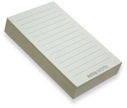 Refill Pads Nite Note Notepad product image