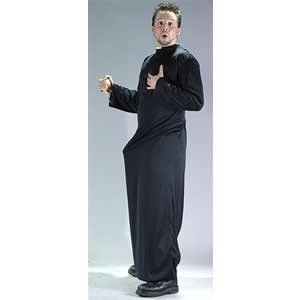 NEW NAUGHTY PRIEST FANCY DRESS OUTFIT COSTUME PARTY SUIT by -