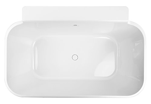 (Hydro Systems RIC5736MTO-BIS Metro Collection 57 x 36 Richmond Tub Only - Biscuit)