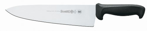 Mundial 10-Inch Cook's Knife with Wide Blade, Black