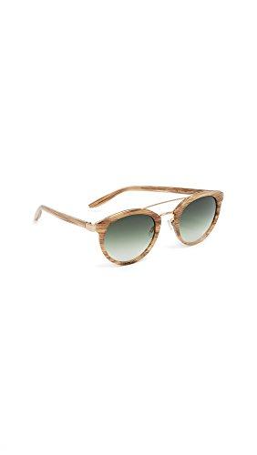 Barton Perreira Women's Dalziel Sunglasses, Horn/Julep, One - Perreira Barton