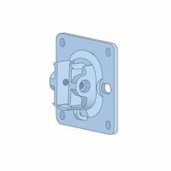 (Aruba JW055A AP-270-MNT-H2 Network Device Wall/Ceiling Mount kit, White)