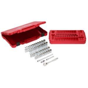 - MLW48-22-9004 1/4In RATCHET & Socket Set - SAE & Metric