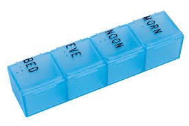 Apex Dayplanner Pill Organizer - 144 Per Case by Apex