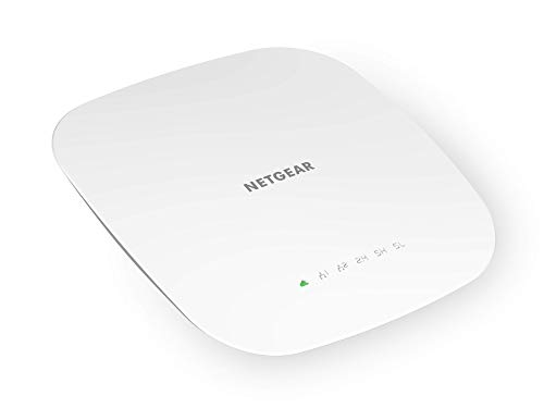 NETGEAR Insight Managed Smart Cloud Tri-Band 4x4 Wireless Access Point, power adapter not included (WAC540)