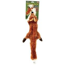 Crazy Critters Stuffing Free Dog Toy - Fox