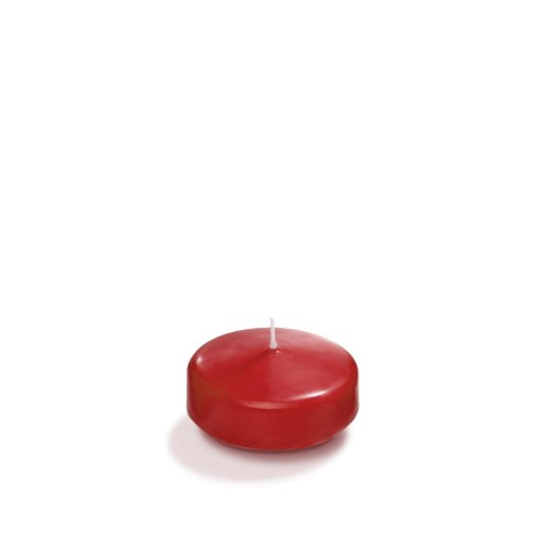 Yummi 2.25 Ruby Red Floating Candles - 6 per Pack