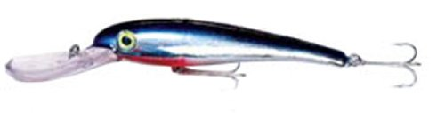 (Mann's Bait Company Magnum Stretch 18 Fishing Lure (Pack of 1), 6-Ounce, Chrome/Blue)
