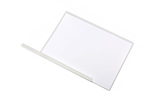 12pack Clear Report Covers 10mm Sliding Bar File Folder Report Covers with Sliding Bar,Transparent File Folders Organizer Binder