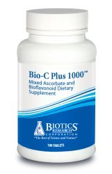 Biotics Research Bio-C Plus 1000 - Antioxidant, High Potency, Bioflavonoids, Supports Healthy Immune Response, Builds Collagen, Healthy Skin, Cartilage & Joint Support 100 ct