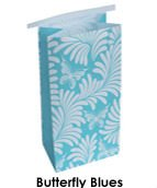 Morning Chicness Butterfly Blues Vomit Bags - Pack of 10