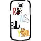 Samsung Galaxy S4 Mini Phone Case RWBY Symbol Animal White Cute Cover