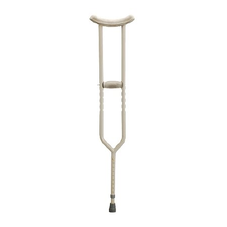 Nova Bariatric Steel Crutch Adult - 3PC