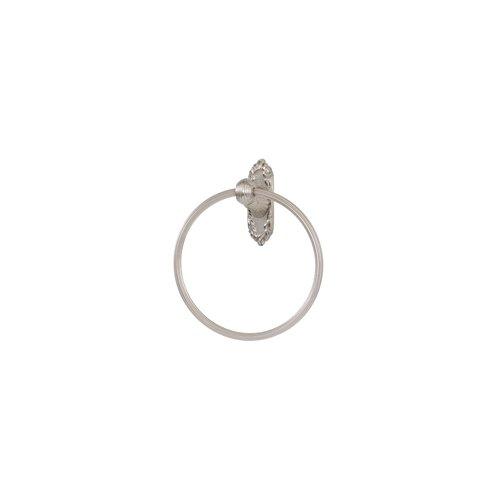 - Alno A8540-SN Ribbon & Reed Towel Rings Traditional, Satin Nickel, 7