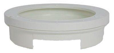 Buy camco rv white pop-a-plate