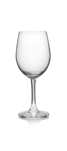 Pure and Simple Serve Riesling Wine Glass, 10.5-Ounce, Set of 4 - Lancaster Colony Clear Glass