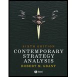 Contemporary Strategy Analysis: Concepts, Techniques, Applications with Cases Set