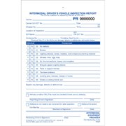 Intermodal Driver's Chassis Inspection Report - Pre-Trip, Snap-Out Format - Stock (Pkg Qty 250) (Trip Driver Reports)