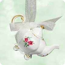 Afternoon Tea Miniature Ornament, 1st in Series. by Hallmark ()