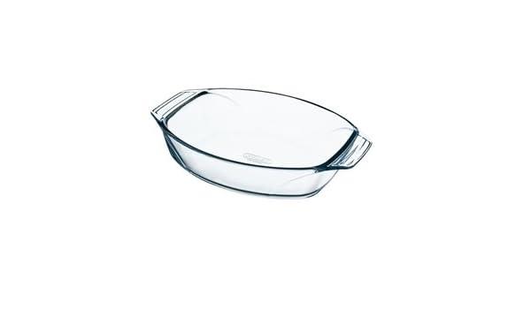 Fuente para horno Pyrex cristal Oval Tamaño: 210 x 300 (W) (D) mm ...