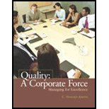 Quality : A Corporate Force, Aikens, C. Harold and Liggett, Hampton, 0130485799