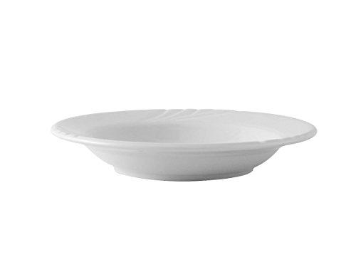 Tuxton YPD-112 Vitrified China Sonoma Pasta Bowl, 22 oz, 11-1/4, Porcelain White (Pack of (China 22 Oz Pasta Bowl)