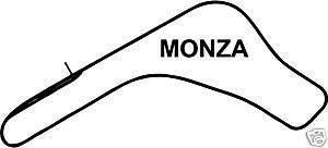 Online Design Monza GP Italia Track Adhesivo Coche Circuito de Carreras Turquesa