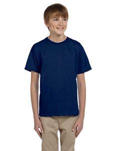 Gildan Ultra Cotton Youth 6 oz. T-Shirt, XS, NAVY