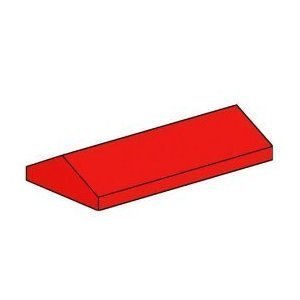 lego-building-accessories-2-x-4-red-ridge-roof-tiles-low-sloped-bulk-25-pieces-per-package