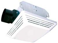 AIR KING AMERICA ASLC120 Advantage 120 CFM Ceiling Exhaust Fan with Light ()