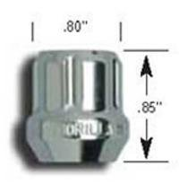 Gorilla Automotive 20088SD SMALL DIAMETER LUG NUTSOPEN END-Bulk-1/2in Acor