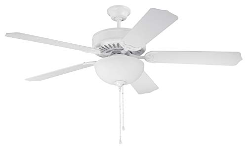 Craftmade K10646 Ceiling Fan Motor with Blades Included, 52