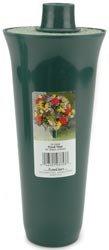 Styrofoam Floracraft Bulk Buy Styrofoam Filled Cemetery Vase 4 inch x 13 1/4 inch 1 Pack Green CV12GU (3-Pack)