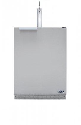 DCS RF24T1 5.8 Cu. Ft. Outdoor Beer Dispenser - Stainless Steel