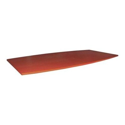 Lorell 69120 Conference Tabletop, Boat-Shaped, 48''Dx96''W, Cherry