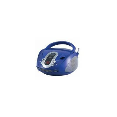Top Load CD Boombox - Blue: Home Audio & Theater