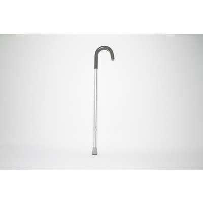 Cardinal Health CNE00013V Cane with J-Hook Handle, Adjustable, 30-39 in. Height, Supports 250 lb