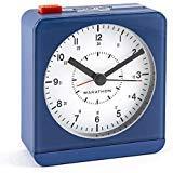 Maratón digital reloj de pared con la temperatura y humedad, Blanco