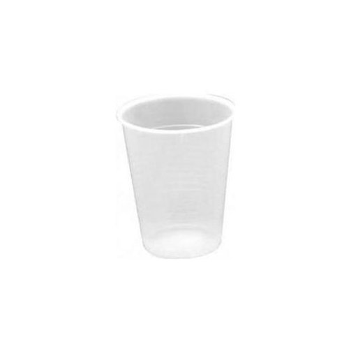 Genuine Joe Translucent Plastic Beverage Cups (Pack of 2400)