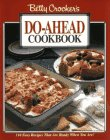 Betty Crocker's Do-Ahead Cookbook, Betty Crocker Editors, 0028600304