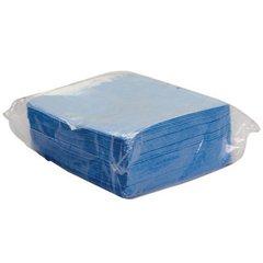 HOSPR811 - Dupont Sontara Ec Creped Blue Wipes 10 polybags per case.