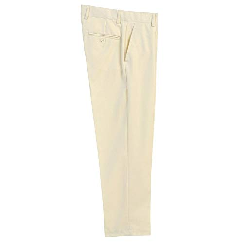 Bone Little Boys Ivory Flat Front Formal Special Occasion Dress Pants 2T