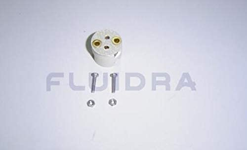 Recambio repuesto porta lampara//bombilla foco proyector plano Astral Pool Ref 4403011403