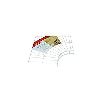 (Rubbermaid Wire Shelving, Wardrobe, White, 12-inch Corner (FG3G30LWWHT))