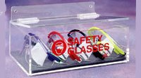 Safety Glass Holder W Lid